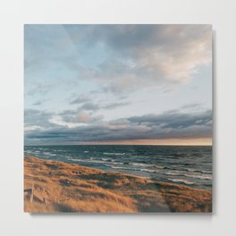 Sunset in Holland Metal Print
