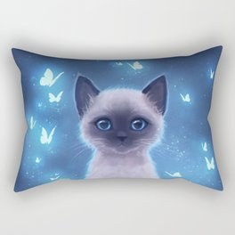 Siamese kitten Rectangular Pillow