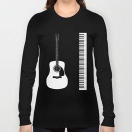 Guitar Piano Duo Long Sleeve T-shirt