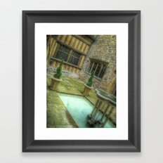 Courtyard Framed Art Print