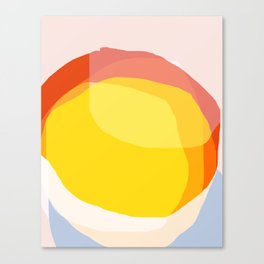 Tropical Sunny Day (Abstract) Canvas Print