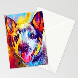 Australian Cattle Dog 3 Stationery Cards