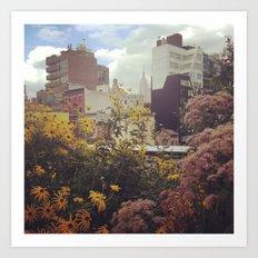 High Line Views Art Print