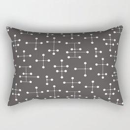 Atomic Era Dots 21 Rectangular Pillow