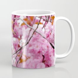 Pink wonderland with double cherry blossom Coffee Mug