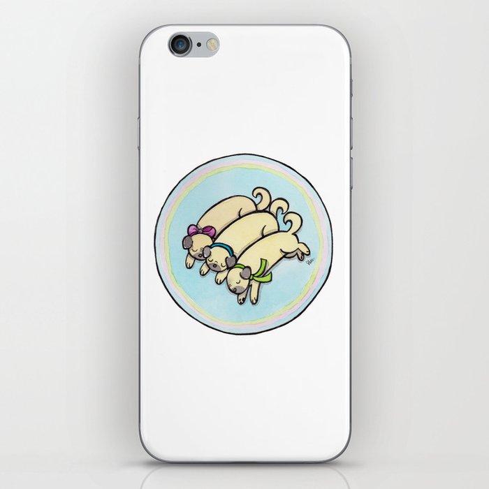 Snug as a Pug on a Rug iPhone Skin