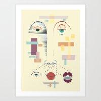Face It Art Print