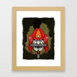 SAMURAI II Framed Art Print