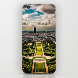 Paris from the Eiffel Tower iPhone Skin