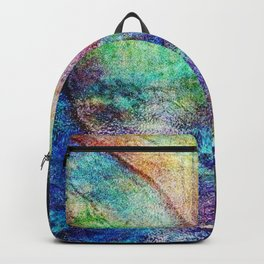 Mermaid Sea Ocean Shell Backpack