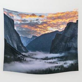 Sunrise Yosemite 10-3-18 Wall Tapestry