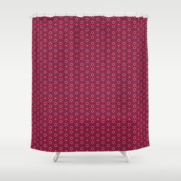 Ethnic Delicate Tiles Shower Curtain