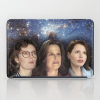 casablanca iPad Cases featuring THE THREE GREAT LADIES by Kaitlin Smith