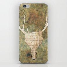 Brilliant Idear iPhone & iPod Skin