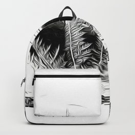 ice feather Backpack