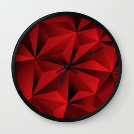 Pologon Graphic Art Wall Clock