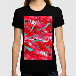 Groovy Red & Pink T-shirt