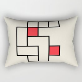 Vintage poster-Bauhaus 1923/2. Rectangular Pillow