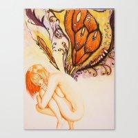fairytale Canvas Prints featuring Fairytale by Jordan grimes