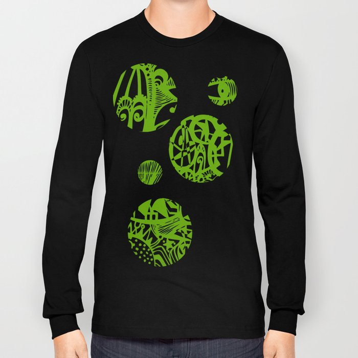 INK#7 Dream in Green Long Sleeve T-shirt