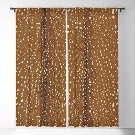 Baby Deer Fawn Print Blackout Curtain