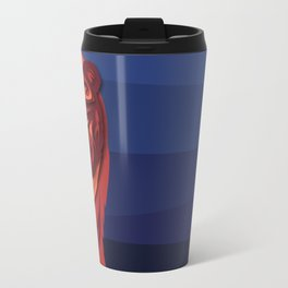 """""""Mathuin in Vector"""" by Paper Laine Travel Mug"""
