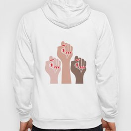 Womens For All Woman Every Kind And Race Fempowerment Power Women Hoody