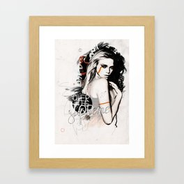 Supreme Framed Art Print