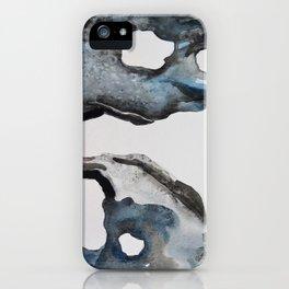 Sea Stones - Watercolor iPhone Case