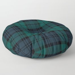 Love Tartán (2) - Black Watch Floor Pillow
