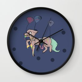 shush. Wall Clock