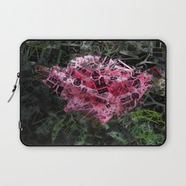 Pink Roses in Anzures 6 Letters 2 Laptop Sleeve
