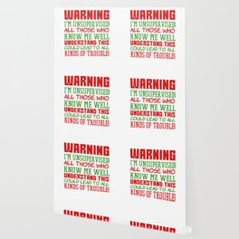 This is the best and funniest tee shirt that's perfect for you Warning I m unsupervised Wallpaper