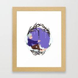 Jack Frost Circlet Framed Art Print