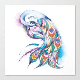 Princess Peacock Canvas Print