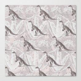 Dinosaure Canvas Print