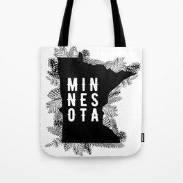 Minnesota Pine Tote Bag