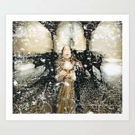 Aria in the Tunnel Art Print