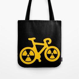 Radioactive Bicycle Tote Bag