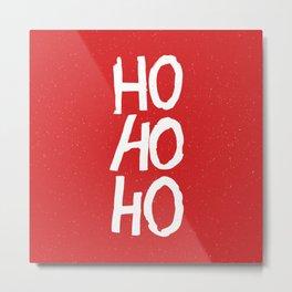 Christmas Ho-Ho-Ho Metal Print