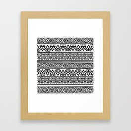 symbols of life Framed Art Print