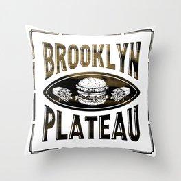 Brooklyn X Plateau - NYC x MTL Throw Pillow