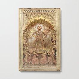 Rubino One World No Fear Gold Metal Print