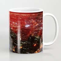 toronto Mugs featuring Toronto by Athena