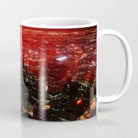 toronto Mugs featuring Toronto by ache