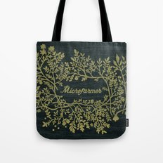 Microfarmer - Gold Tote Bag