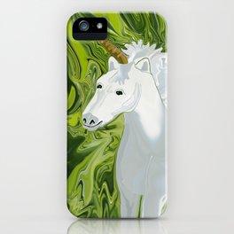 Herron's Horn iPhone Case