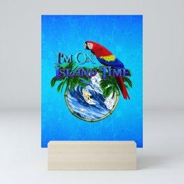 Island Time Surfing Mini Art Print