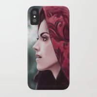 ruby iPhone & iPod Cases featuring Ruby by Svenja Gosen