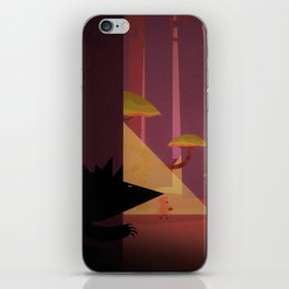 Little Red Riding Hood And The Wolf iPhone Skin